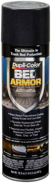 Dupli-Color Bed Armor Truck Bed Liner Spray (16.5 oz) from Dupli-Color