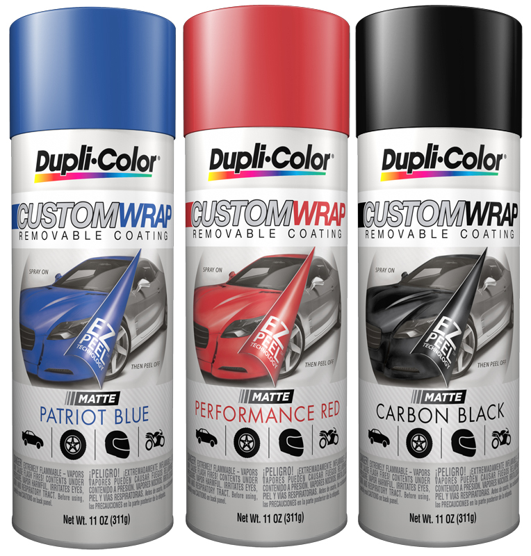 Dupli-Color Custom Wrap Removable Coating (11 oz) -  Neon Pink from Dupli-Color
