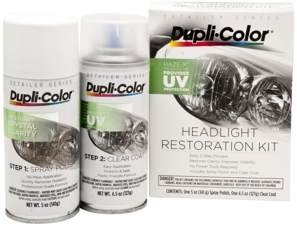Dupli-Color Headlight Restoration Kit from Dupli-Color
