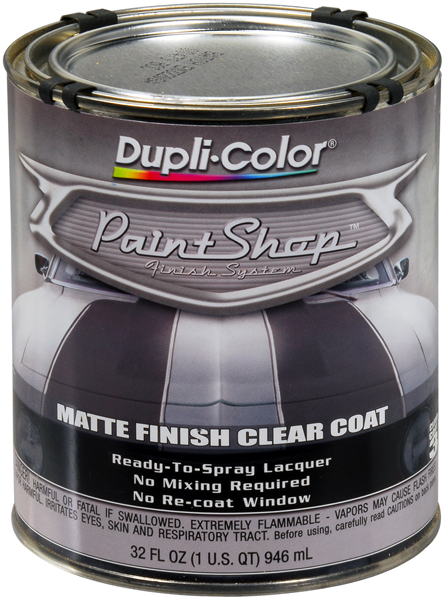 Dupli-Color Paint Shop Clear Coat Matte Finish (32 oz.) from Dupli-Color