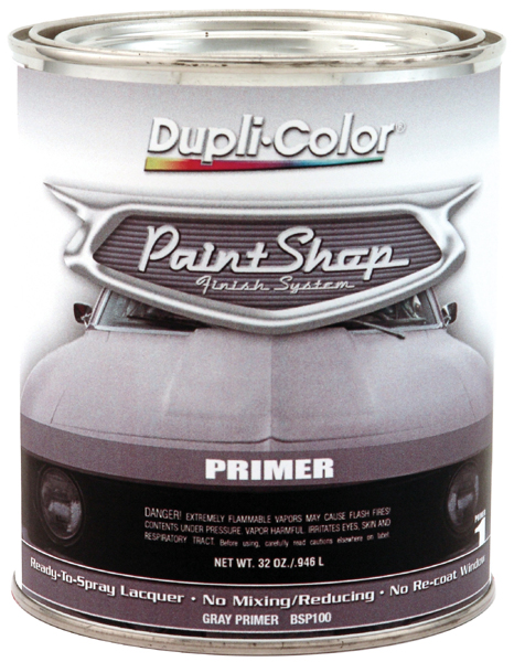 Dupli-Color Paint Shop Gray Primer (32 oz.) from Dupli-Color