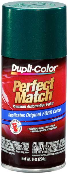 Ford/Lincoln/Mazda Metallic Deep Jewel Green Auto Spray Paint - PA (1991-2002) from Dupli-Color