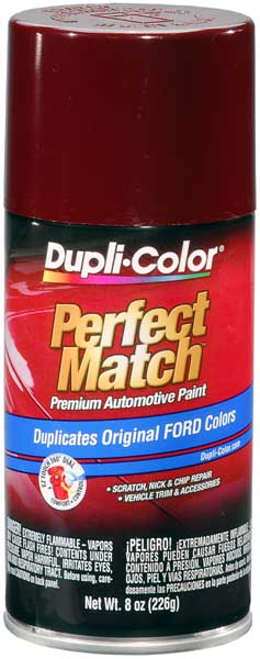 Ford/Lincoln Dark Canyon Red Auto Spray Paint -44/2H/EH (1987-1993) from Dupli-Color