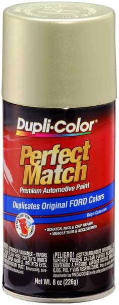 Ford/Lincoln Metallic Gold Ash Auto Spray Paint - C2 (2003-2007) from Dupli-Color