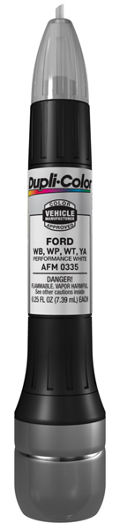 Ford Performance White All-In-1 Scratch Fix Pen - WB WP YA WT (1993-2011) from Dupli-Color