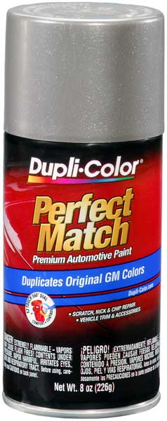 GM/Hummer/Saturn Metallic Pewter Auto Spray Paint - 11 (1999-2007) from Dupli-Color