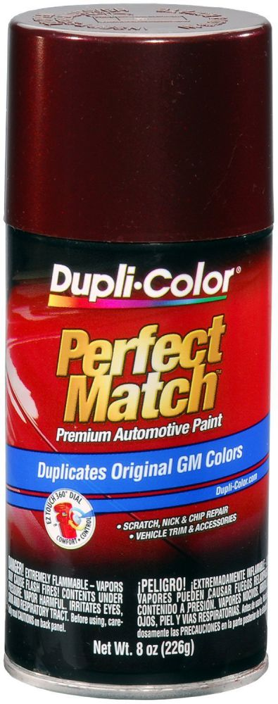 GM Dark Garnet Red Metallic Auto Spray Paint - 76 (1987-1996) from Dupli-Color