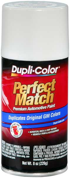 GM & Hummer Olympic White Auto Spray Paint - 50 (1985-2018) from Dupli-Color