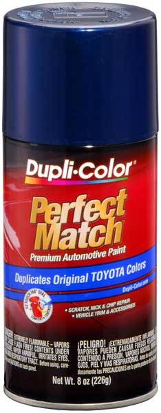 Lexus/Scion/Toyota Dark Blue Pearl Auto Spray Paint -8P4 (2001-2008) from Dupli-Color