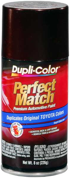Lexus/Toyota Black Garnet Pearl Auto Spray Paint - 3Q2 (2002-2007) from Dupli-Color