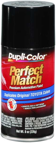 Lexus Metallic Black Auto Spray Paint - 202 204 (1995-2016) from Dupli-Color