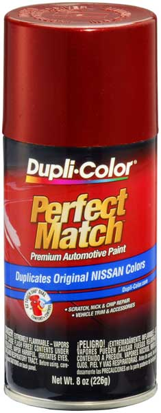 Met. Burgundy Pearl/Berry for Infiniti & for Nissan Auto Spray Paint - AH2 (1989-1992) from Dupli-Color
