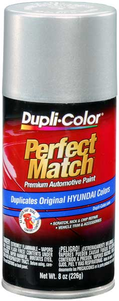 Metallic Bright Silver Auto Spray Paint for Hyundai - K1 (2006-2011) from Dupli-Color