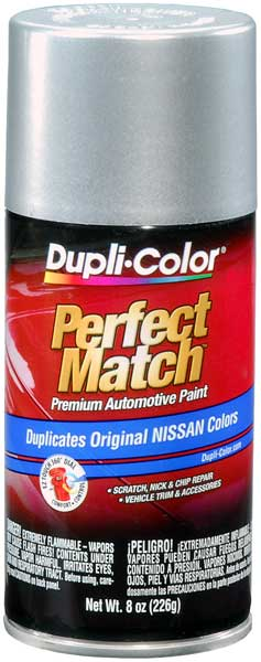 Metallic Platinum for Nissan Auto Spray Paint - KN0 (1993-2001) from Dupli-Color