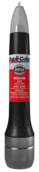 Red Alert for Nissan All-In-1 Scratch Fix Pen - A20 (2005-2016) from Dupli-Color