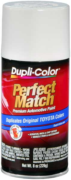 Toyota Natural White Auto Spray Paint - 056 (1996-2010) from Dupli-Color