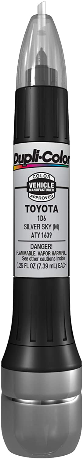 Toyota Silver Sky (M) All-in-1 Touch Up Paint - 1D6 (2001-2020) from Dupli-Color