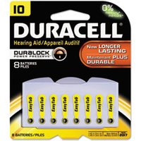 Lithium Medical Battery, 3V, #10, 8/Pk from Duracell