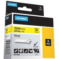 Dymo Colored Industrial Rhino Vinyl Labels from Dymo