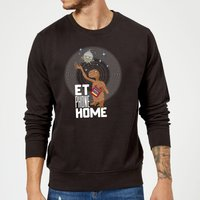 E.T. Phone Home Sweatshirt - Black - XL - Black from E.T. the Extra-Terrestrial