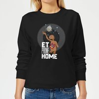 E.T. Phone Home Women's Sweatshirt - Black - XS - Black from E.T. the Extra-Terrestrial