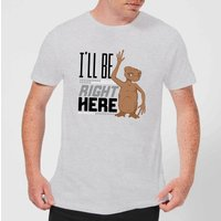 ET I'll Be Right Here T-Shirt - Grey - L - Grey from E.T. the Extra-Terrestrial
