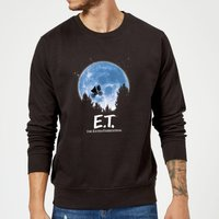 ET Moon Silhouette Sweatshirt - Black - L - Black from E.T. the Extra-Terrestrial