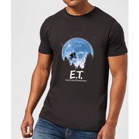 ET Moon Silhouette T-Shirt - Black - L - Black from E.T. the Extra-Terrestrial