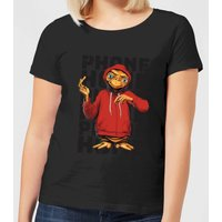 ET Phone Home Stylised Women's T-Shirt - Black - XL - Black from E.T. the Extra-Terrestrial