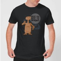 E.T. Where Are You From T-Shirt - L - Black from E.T. the Extra-Terrestrial