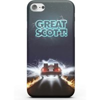 Back To The Future Great Scott Phone Case - iPhone X - Tough Case - Gloss from Back to the Future