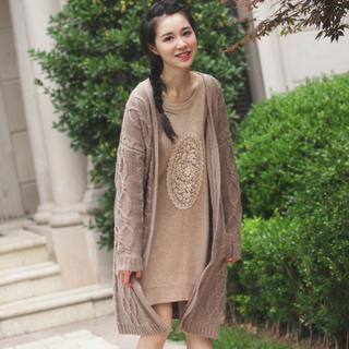 Cable-Knit Cardigan from EFO