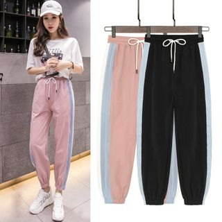 Color Block Jogger Pants from EFO