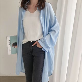 Loose-fit Long Sleeve Shirt from EFO