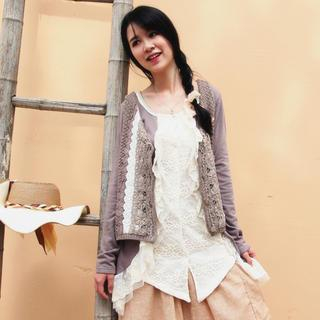 Mock Two-Piece Cardigan from EFO