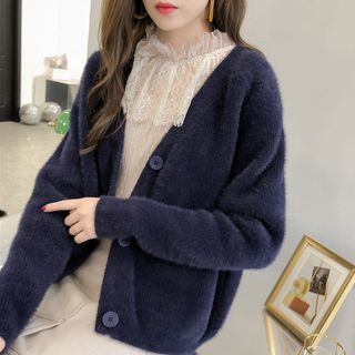 Plain Cardigan from EFO