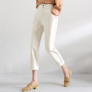 Plain Cropped Pants from EFO
