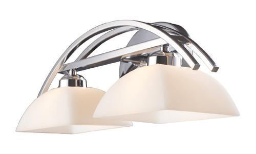 ELK Lighting 10031-2 Arches Two Light Vanity In Polished Chrome from ELK Lighting