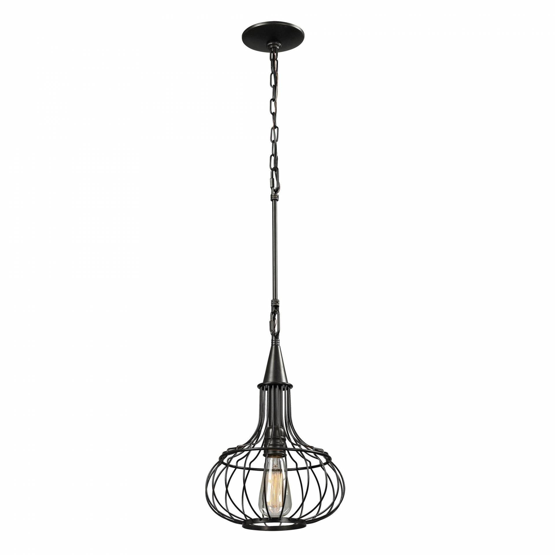 ELK Lighting 14192/1 Yardley Collection Oil Rubbed Bronze Finish from ELK Lighting
