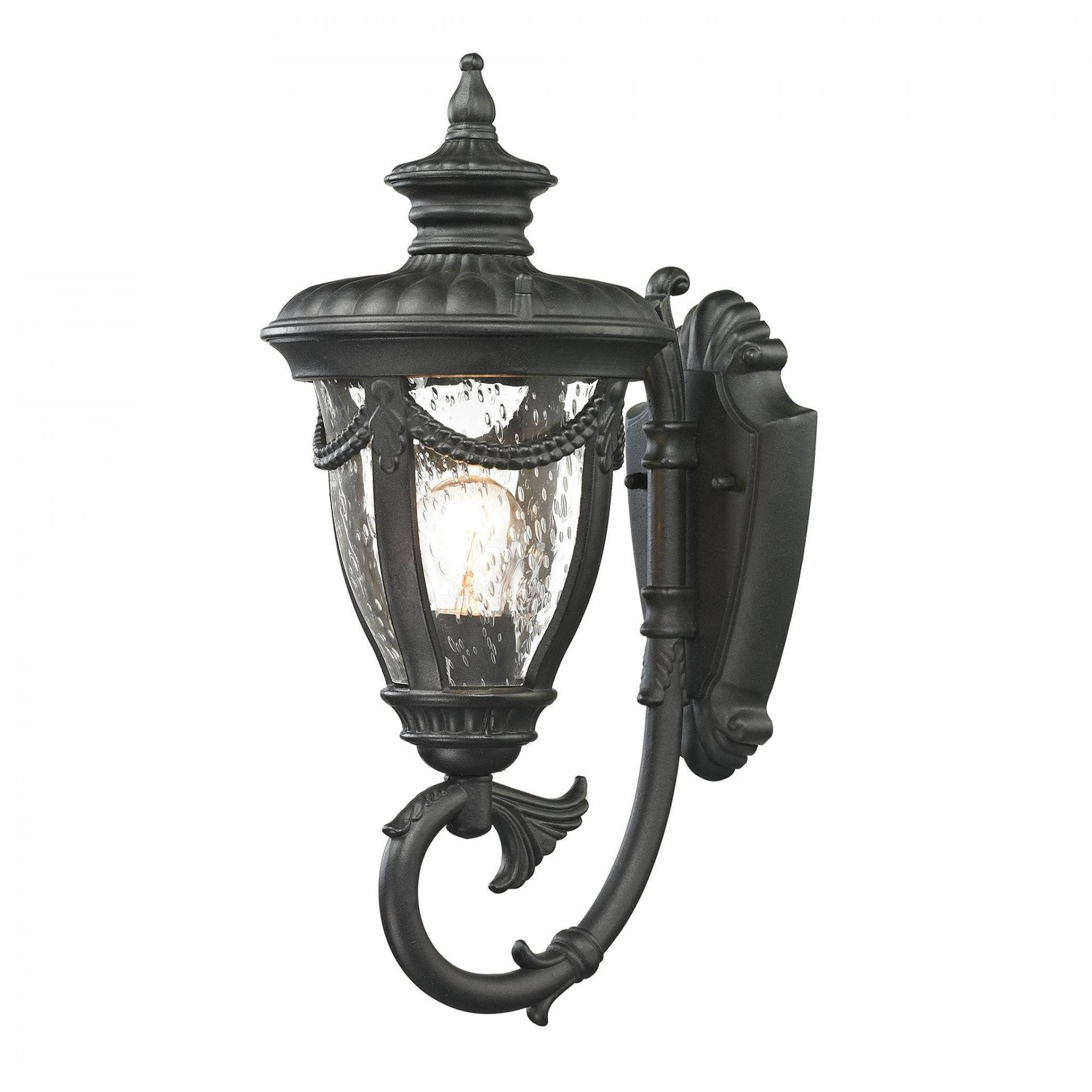 ELK Lighting 45075/1 Anise Collection Textured Matte Black Finish from ELK Lighting