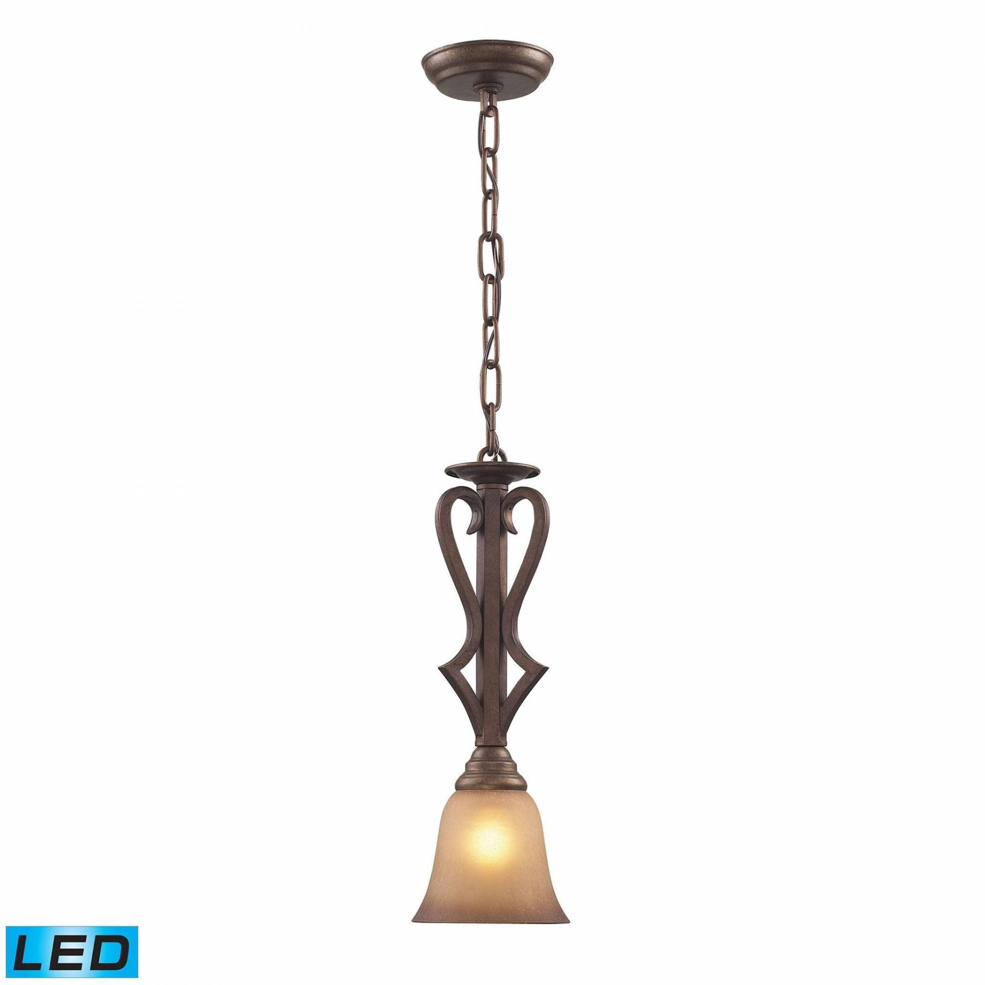 ELK Lighting 9325/1-LED Lawrenceville Collection Mocha Finish from ELK Lighting