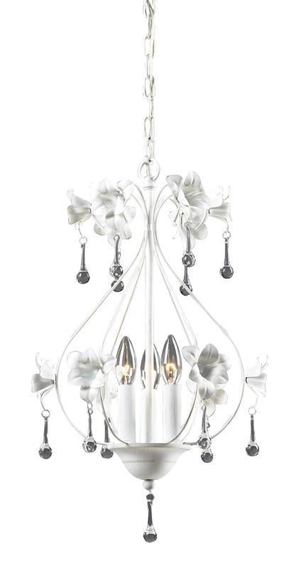 ELK Lighting Roxanna 3- Light Chandelier In Antique White - 18098/3 from ELK Lighting