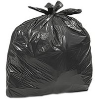 Large Trash Bags, 33 gal, 0.75 mil, 32 1/2 x 40, Black, 50/BX, 6 BX/CT from Earthsense Commercial