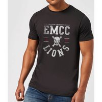 East Mississippi Community College Lions Men's T-Shirt - Black - XXL - Black from East Mississippi Community College
