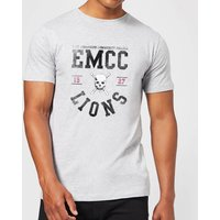 East Mississippi Community College Lions Men's T-Shirt - Grey - XXL - Grey from East Mississippi Community College