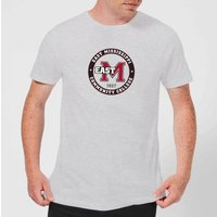 East Mississippi Community College Seal Men's T-Shirt - Grey - XL - Grey from East Mississippi Community College