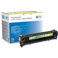 Elite Image Remanufactured Toner Cartridge - Alternative for HP 125A (CB542A) from Elite Image