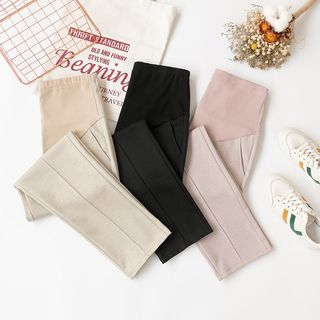 Maternity Crop Straight Fit Pants from Empressa