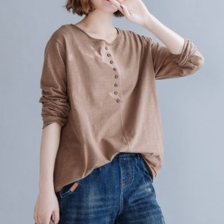 Crew-Neck Long-Sleeve Top from Epoch