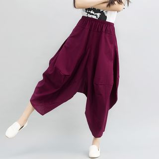 Cropped Harem Pants from Epoch